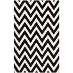 Safavieh Cambridge Black/Ivory 8 ft. x 10 ft. Area Rug CAM139E-8 at The Home Depot - Mobile