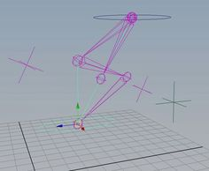 No Flip Quadruped Hind Leg is an improvement upon an awesome hind leg rig by Morgan Loomis. I added the no flipping, fixed the rotation issue with the ikSpringSolver, and created this tutorial to help others with their quadruped rigs. Using Maya.