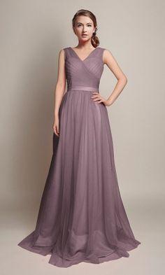 25748fd1675f Mauve Long   Short Bridesmaid Dresses   80- 149