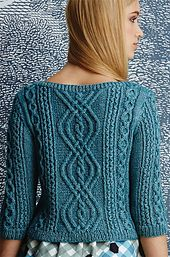 Ravelry: #02 Bateau-Neck Pullover pattern by Patty Lyons