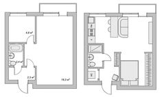 The perfect way to make a tiny apartment into a wonderfully spacious home