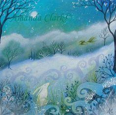 amanda clark artist | The First Snow by Amanda Clark 2012.