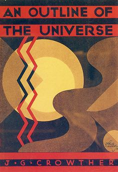 An Outline of the Universe. Love the use of color and the contrast of straight and curved lines.