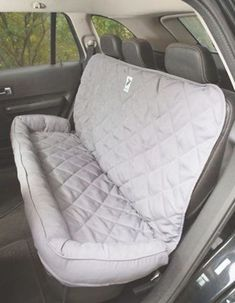 Quilted Leather Car Seat Covers Pair For Mini Cooper Hatchback 2006-2013