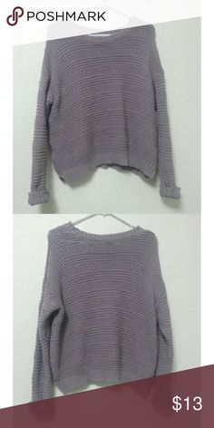 Chunky Lavender Sweater If you have any questions, feel free to leave them in the comments! Forever 21 Sweaters Crew & Scoop Necks