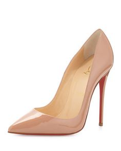 Christian Louboutin So Kate Patent Red Sole Pump 66f037cfcd7