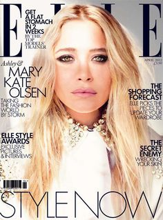 MK's new Elle Cover. Dying.