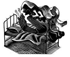 Wood engraving by Eric Ravilious Scratchboard, English Artists, Chiaroscuro, Wood Engraving, Gravure, Woodblock Print, Home Art, Printmaking, Illustrators