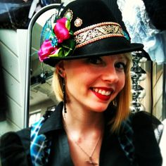 More from Munich: Dekadenza hat!! -- From Rare Dirndl / RareDirndl.com