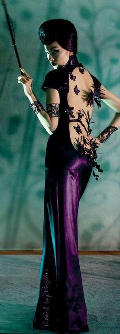 Regilla ⚜ Fei Fei Sun wearing Jean Paul Gaultier photo by Steven Meisel