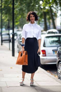 21 More Street Style Snaps From London Fashion Week purse...shoes!!!!