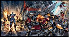 Avengers by Dustin Weaver