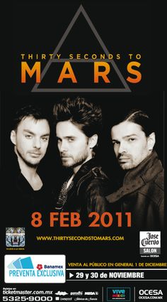 30 seconds to mars π
