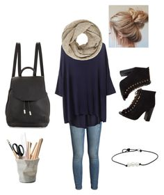 """Me❤️🤘"" by sheltonmicaela on Polyvore featuring ESSEY, Paige Denim, John Lewis, rag & bone and powerlook"