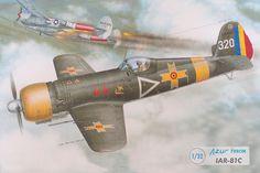 IAR-81C. Azur Frrom, 1:32. Review.