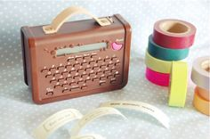 washi tape printer via going home to roost