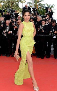 Freida Pinto at the 2012 Cannes Film Festival