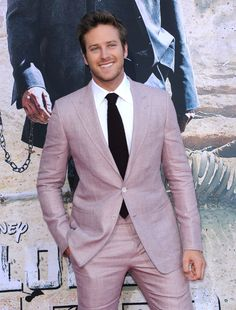Double swoon! Armie Hammer!