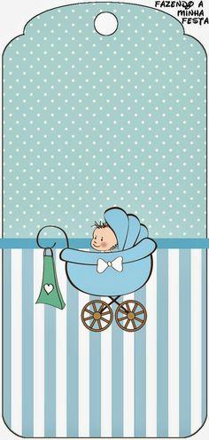 Cochecito Celeste de Bebé: Imprimibles Gratis para Fiestas.: Baby Birth, Baby Shawer, Baby Boys, New Baby Products, Baby Shower Parties, Baby Boy Shower, Baby Boy Scrapbook, Baby Clip Art, Baby Album