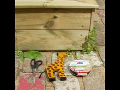 Be inspired to decorate your sandbox and feed your children's imaginations