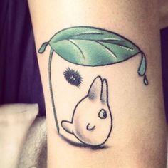 chibi totoro | Tattoos | Pinterest