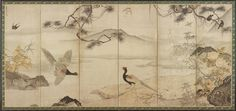 Japanese Art | Birds and Flowers of the Four Seasons: Spring and Summer | F1953.94 Muromachi