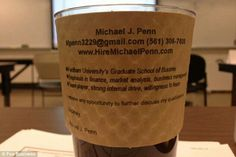 Bespoke coffee cup cv Cv Design, Michael J, Graduate School, Bespoke, Coffee Cups, Products, Taylormade, Design Resume, University