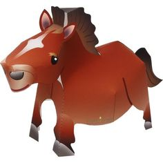 Horse,Animals,Paper Craft,horse,Animals,Paper Craft,easy,Chinese zodiac