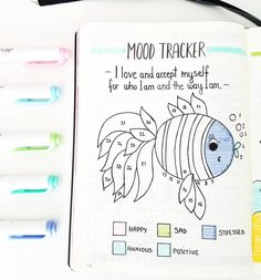 Hi guys! Here's my first ever mood tracker . I was little nervous about it but I I like how it turned out ✔. ... I also added short…