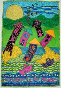 art quilt alzheimer's disease  *With Heart and Hands* : MVQG Challenge: Parade of Homes