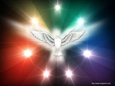 'The Holy Spirit will come upon you, and the POWER OF THE MOST HIGH will overshadow you. So the holy one to be born will be called the Son of God' (Luke Cross Wallpaper, The Third Person, Most High, Jesus On The Cross, Son Of God, Holy Spirit, Namaste, Holi, Holy Holy