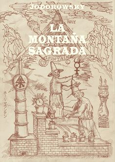 The Holy Mountain Directed by Alejandro Jodorowsky Film Recommendations, The Holy Mountain, Practical Magic, Holi, Movie Tv, Vintage World Maps, Cinema, Princess Zelda, Illustration