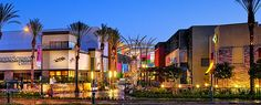 Anaheim GardenWalk, next to the Time-Share.    Bubba Gump,  CA Pizza Kitchen, Cheesecake Factory, FiRE + iCE Grill + Bar, Johnny Rockets, McCormick & Schmick's Grille, P.F. Chang's,  Rocky Mountain Chocolate, Roy's Hawaiian, 24 Hour Fitness, Bowlmor Lanes, Heat Ultra Lounge, UltraLuxe Cinemas