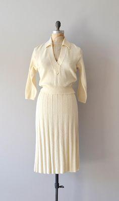 1950s knit dress