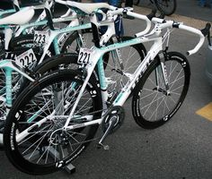 Photos of bikes used by Hushovd, Cancellara, Goss, Wiggins and others Trek Road Bikes, Pro Bike, Bicycles, Milan, Boats, Cycling, History, Retro, Photography