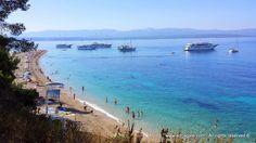 L'île de Brac – il s'agit de la troisieme plus grande île en Croatie et de la plus grande île dalmate. Sur l'île de Brac se trouve l'une des plages les plus populaires en Croatie : la célebre Corne d'Or (Zlatni rat) située a Bol, qui est aussi une destination tres touristique de l'île de Brac.