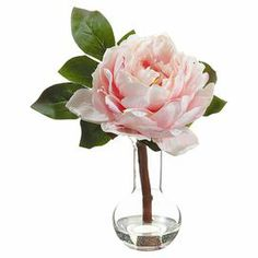 Awesome Faux Pink Peony Arrangement