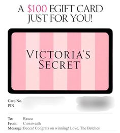 Dear thank you again for the epic gift card to As if werent great enough on their own getting lots of goodies from VS was an extra treat. Love Ya, Goodies, Victoria Secret, Just For You, Treats, Messages, Cards, Gifts, Instagram