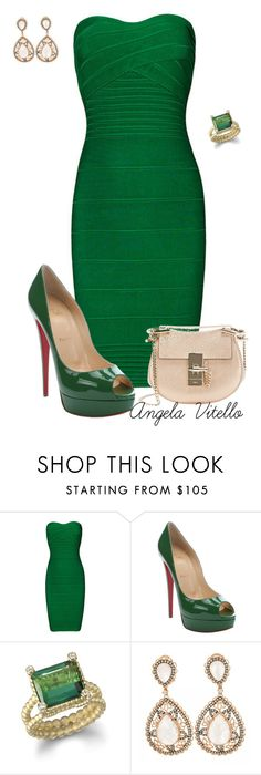 """""""Untitled #652"""" by angela-vitello on Polyvore featuring Christian Louboutin and Chloé"""