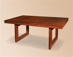 Kalispel Contemporary Amish Dining Table