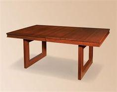 Kalispel Contemporary Amish Dining Table