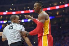 Dwight Howard suspended for 1 game after elbowing Andre Iguodala