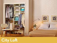Organize every area of your home with do-it-yourself custom closet and home organization systems from EasyClosets. Loft Closet, Closet Bedroom, Closet Space, Home Bedroom, Bedrooms, Master Bedroom, Closet Shelving, Best Closet Systems, Small Closets