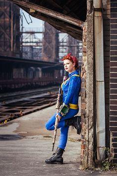 Zuzana Cinková alias Baty udělala Fallout cosplay. Podívejte se