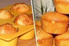 Высокие воздушные кексы: ТОП-5 рецептов Sweet Pastries, Cornbread, Baked Goods, Sweet Potato, Cake Recipes, Muffins, Deserts, Mashed Potatoes, Cheese