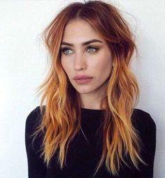 83 Fantastiche Immagini Su Biondo Rame Hair Colors Haircolor E