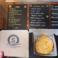 People have been telling me to go to the @shuswappiecompany forever and today I was finally able to go! It was amaaaaazing (pictured: sausage Apple sage pot pie not pictured: lemon buttermilk pie and rhubarb raspberry pie for @bsanjenko). #shuswappiecompany #salmonarm #pie #allthepie #delicious #shuswap #potpie