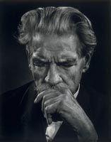 Albert Schweitzer (1875-1965), 19 June 1954, Yousuf Karsh
