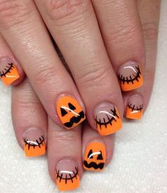 98 Best Coolest Halloween Nail Art Designs, 50 Cool Halloween Nail Art Ideas, 24 Funny Halloween Nail Art Design Ideas Rogue Wolf Nail Designs, 50 Awe Inspiring Halloween Nail Art Designs, 40 Cute and Spooky Halloween Nail Art Designs Listing More. Halloween Acrylic Nails, Cute Halloween Nails, Halloween Nail Designs, Halloween Halloween, Snowflake Nails, Thanksgiving Nails, Holiday Nail Art, Christmas Holiday, Autumn Nails