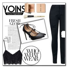 """""""YOINS 6/10"""" by tamsy13 ❤ liked on Polyvore featuring Bobbi Brown Cosmetics, Who What Wear, yoins, yoinscollection and loveyoins"""